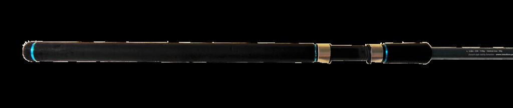 Le talon de la canne est la partie la plus épaisse de la canne, celle qui reçoit le moulinet