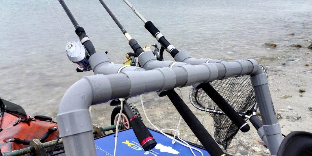 Fabrication d'un porte cannes pour kayak