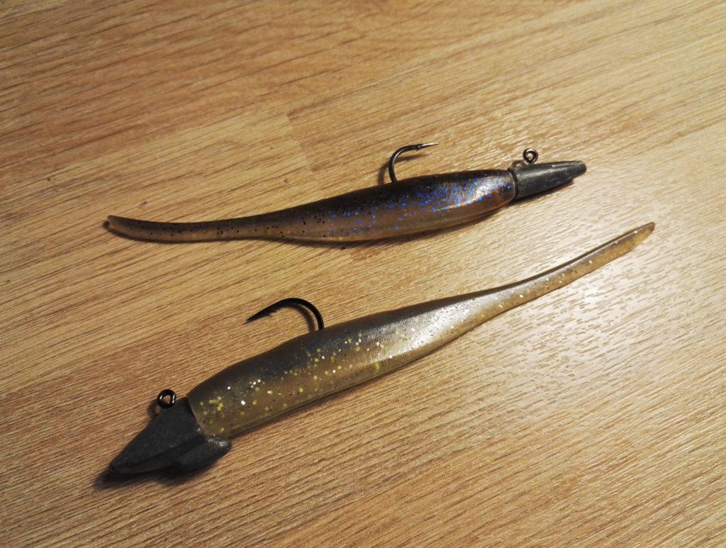 Deux montages pour pêcher en lancer-ramener et prospecter rapidement la zone.