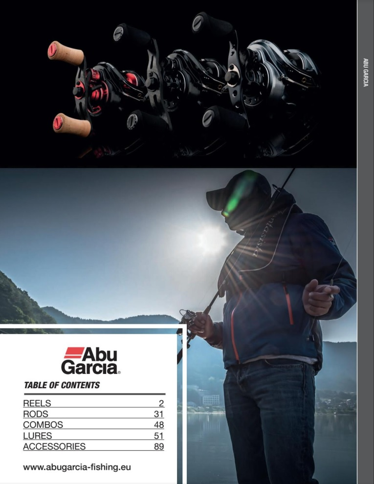 Catalogue Abu Garcia 2017 version anglaise
