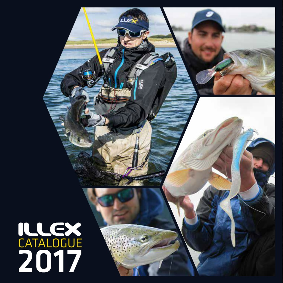 Catalogue Illex 2017 (cannes, leurres, bagagerie)