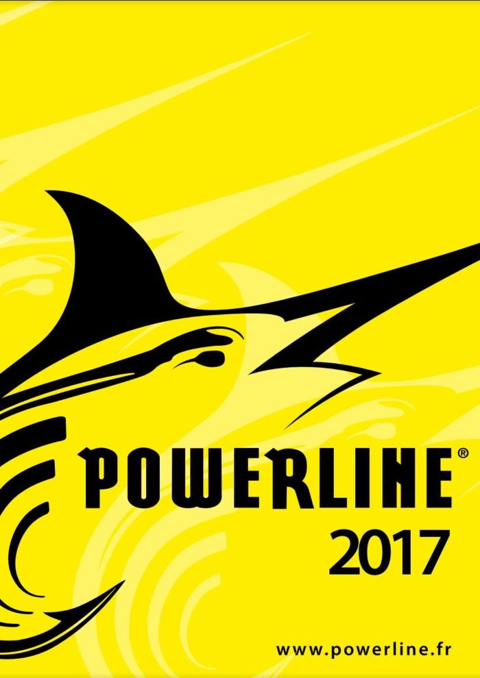 Catalogue Powerline 2017 (Fils, leurres et accessoires)