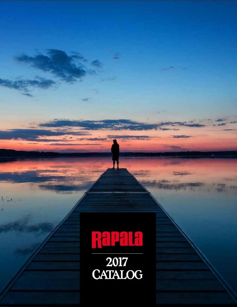 Catalogue Rapala 2017 version anglaise (leurres, outillage, accessoires, bagagerie, vêtements, lunettes)