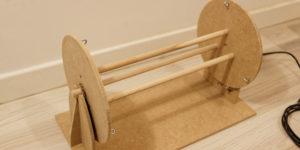 Fabrication d'un séchoir rotatif pour leurres