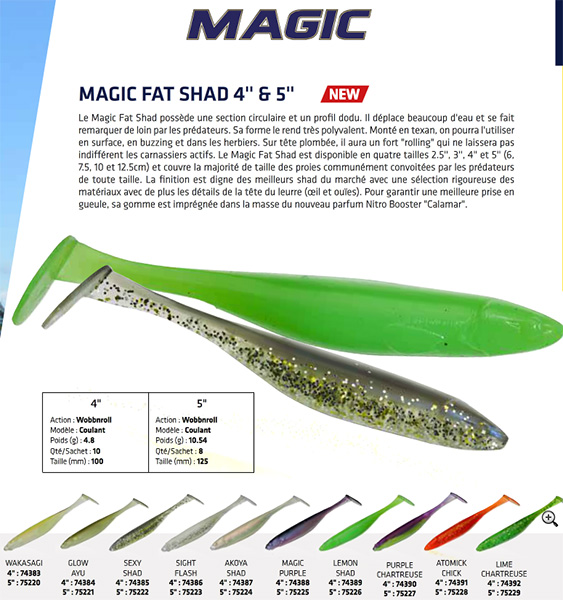Illex Magic Fat Shad