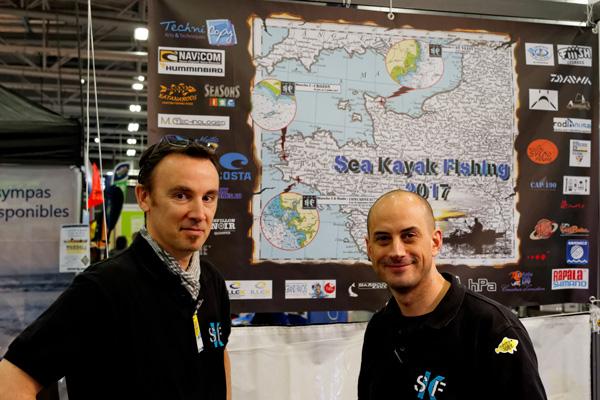 Matthieu et Arnaud aux commandes de la SKF