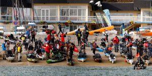 La Sea Kayak Fishing du côté commissaire