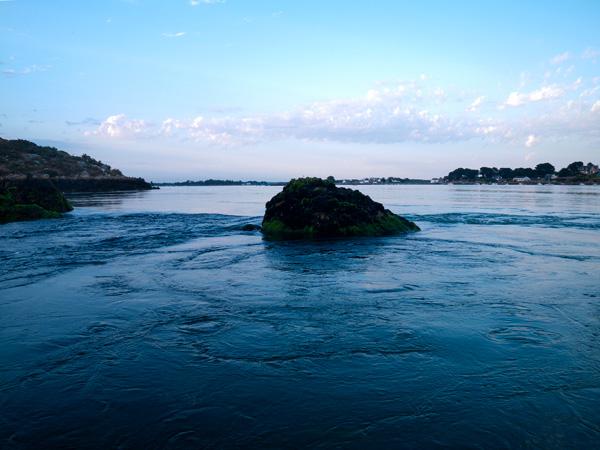 Ce type de roche n'est pas toujours dans la veine de courant suivant la marée