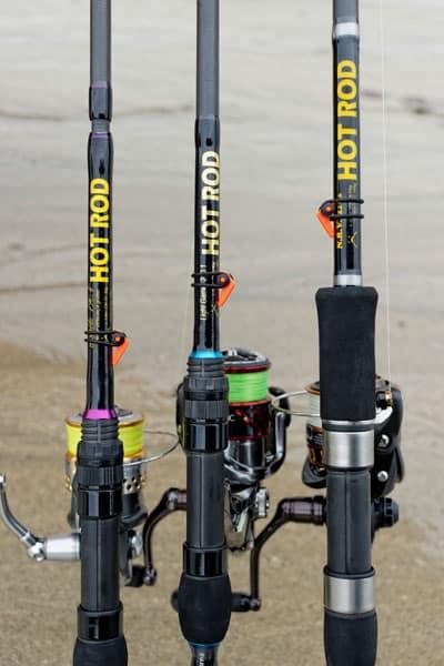 Trois cannes pour trois utilisations différentes en kayak