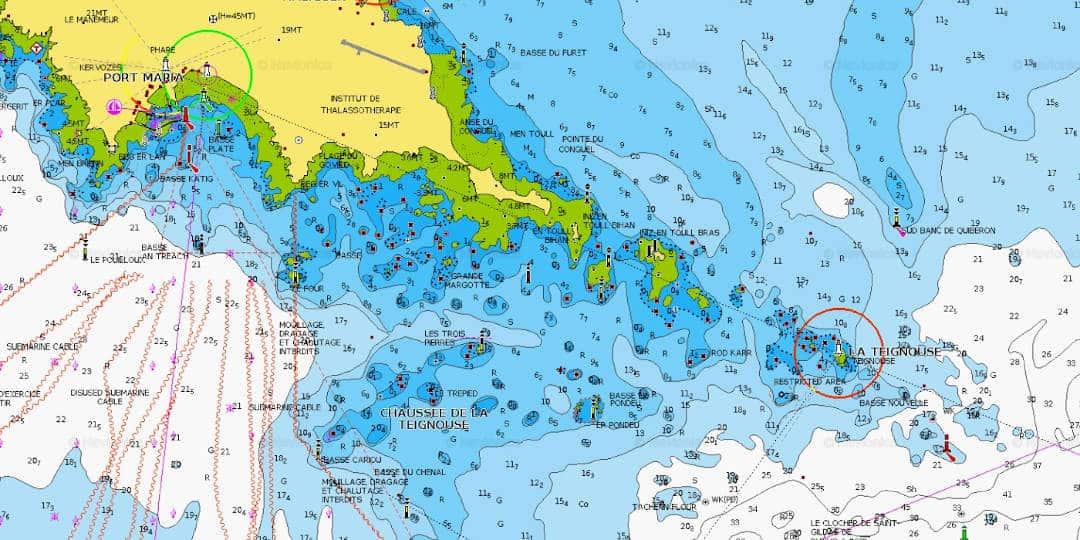 Trouver de nouveaux coins de pêche avec Navionics ChartViewer
